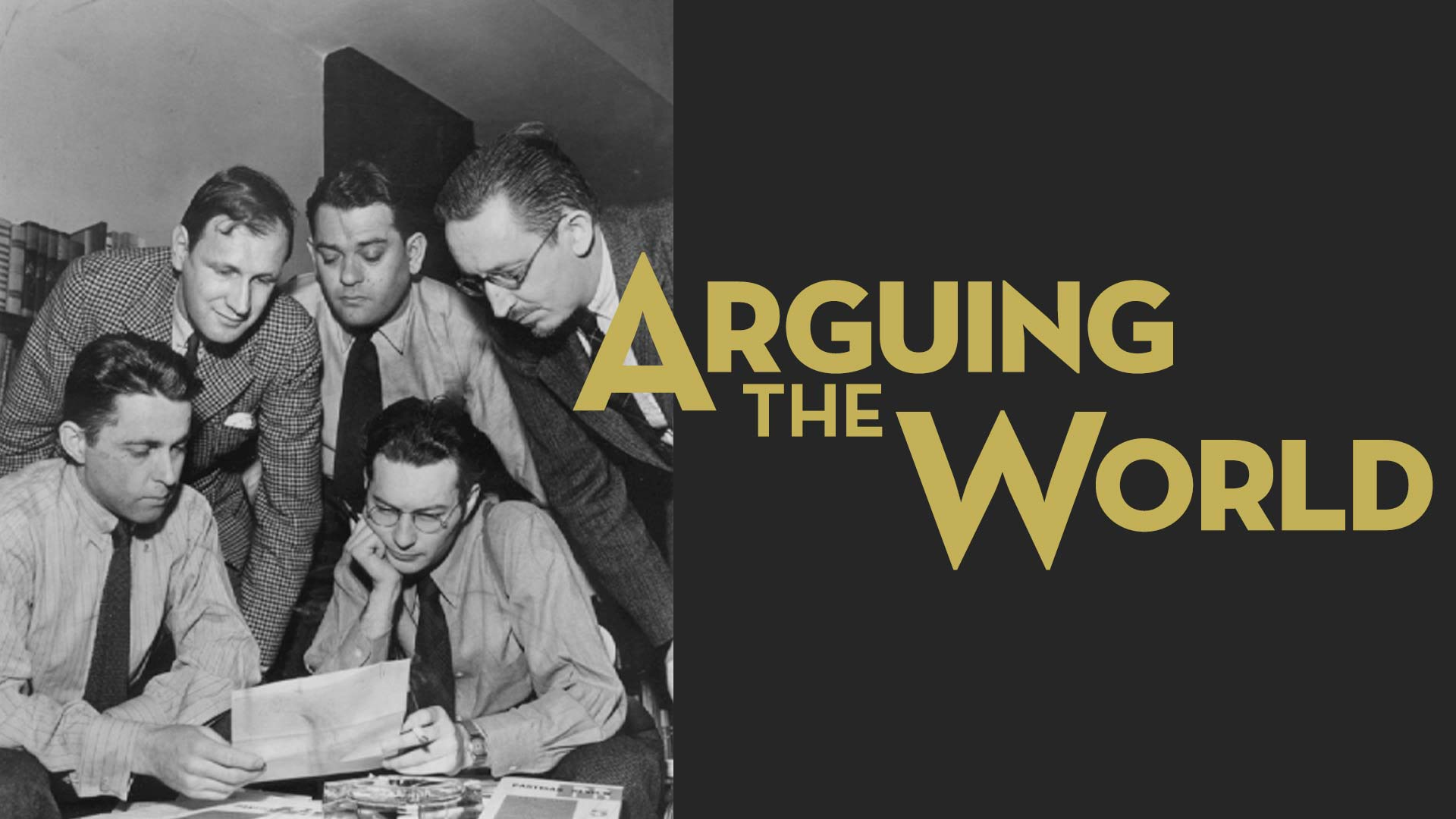 Arguing the World - image