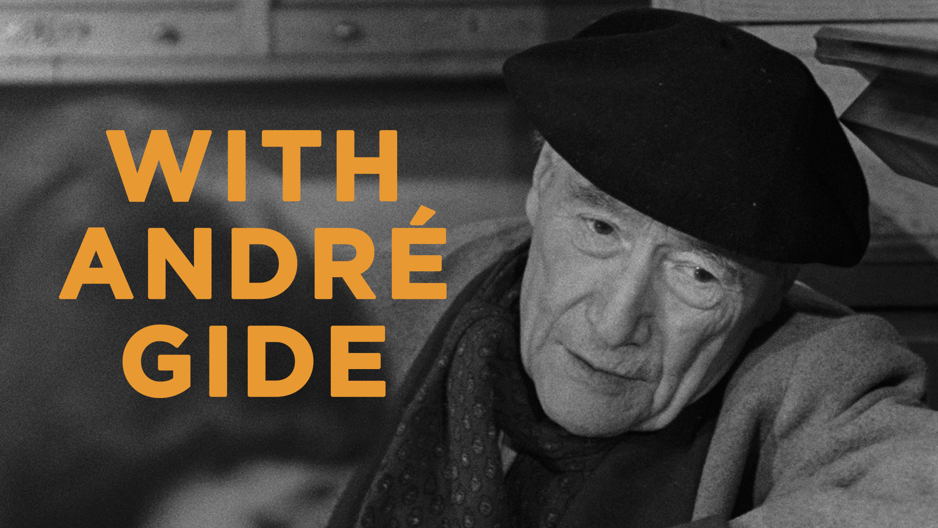With André Gide - image